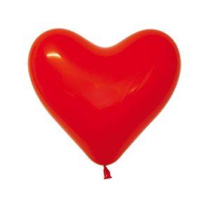 Balon serce 12 czerwone