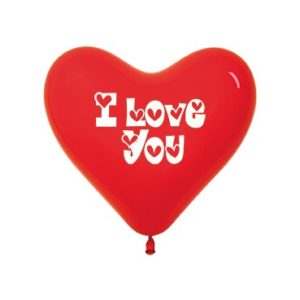 Balon serce 12 I Love You