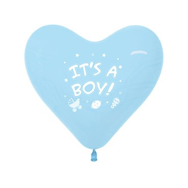 Balon serce 12 It's A Boy!
