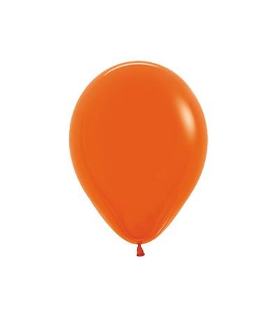 Balon okrągły 10 pomarańczowy