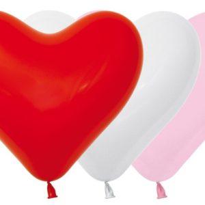 Balon serce 16 miks love