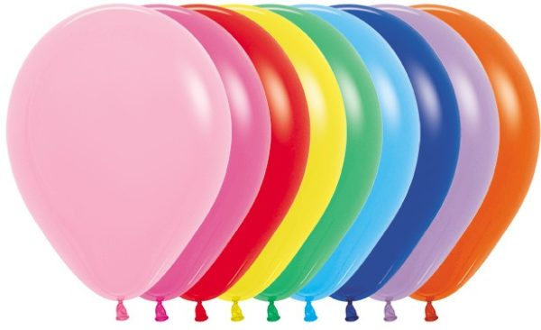 "Balon okrągły 5"" miks kolorówR5 000"