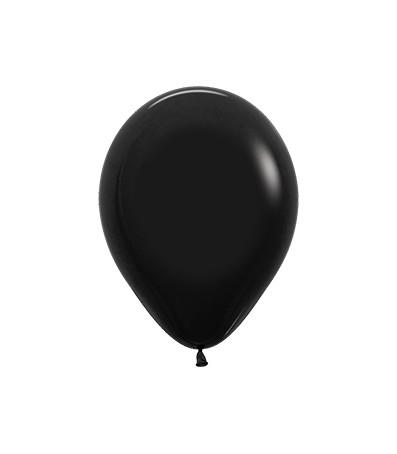 Balon okrągły 10 czarny
