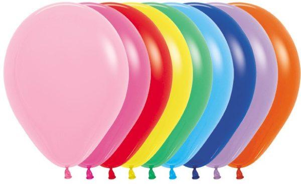 Balon okrągły 12 miks kolorów
