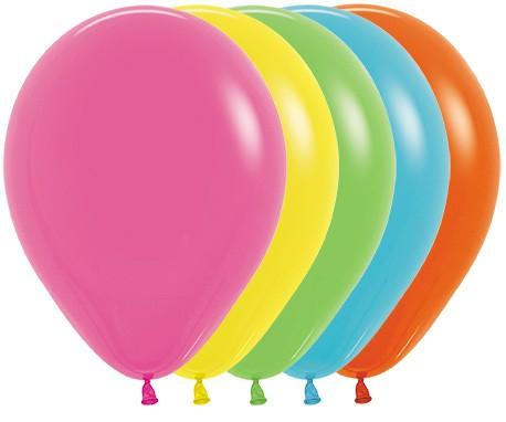 Balon okrągły 12 Tropical Mix