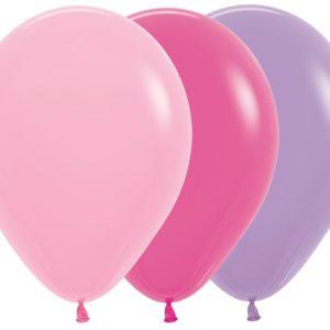 Balon okrągły 12 Dziewczęcy Mix