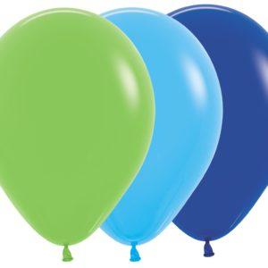 Balon okrągły 12 Chłopięcy Mix