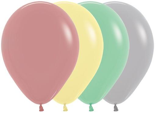 Balon okrągły 12 Vintage Mix