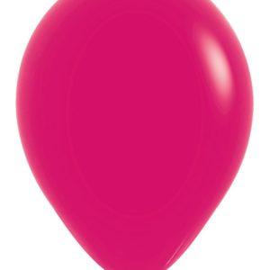Balon okrągły 12 malinowy
