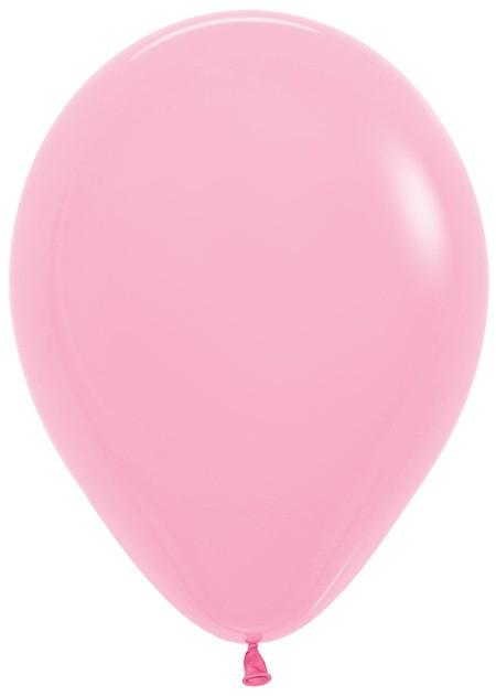 Balon okrągły 12 różowy