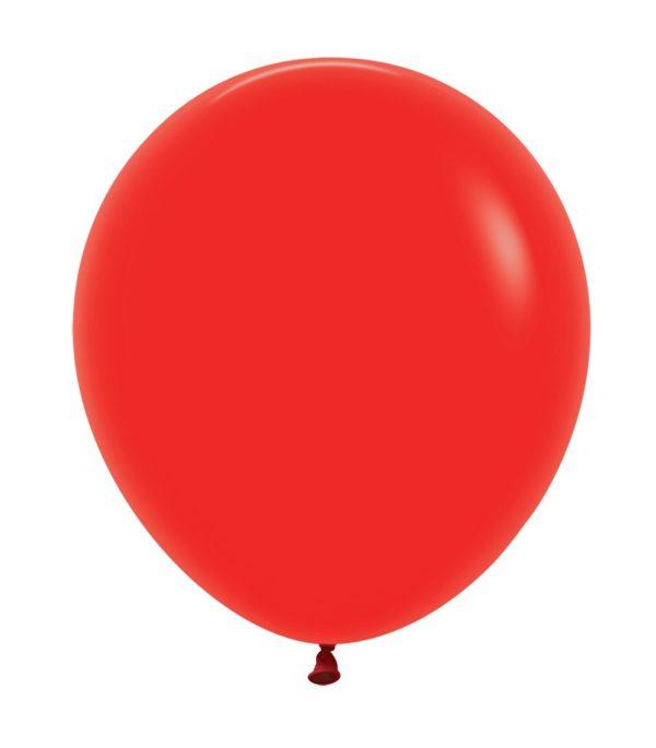 Balon kulisty 16 czerwony
