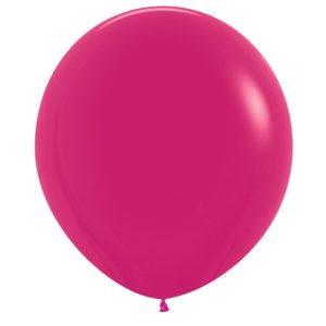 Balon kulisty 16 malinowy