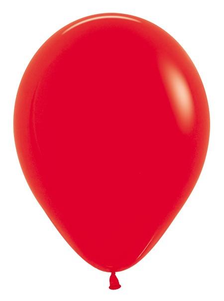 Balon okrągły 12 czerwony
