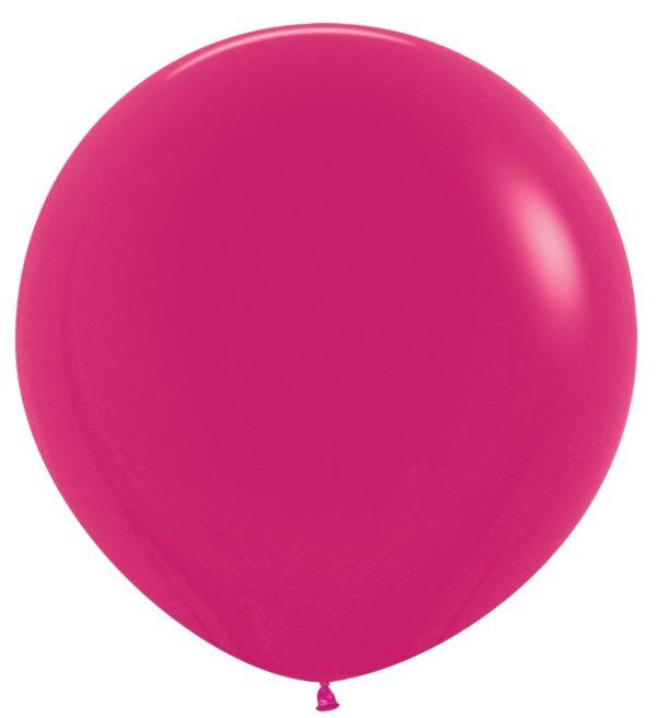 """R36 014 Balon okrągły 36"""" malinowy  Sklep Balonolandia"""