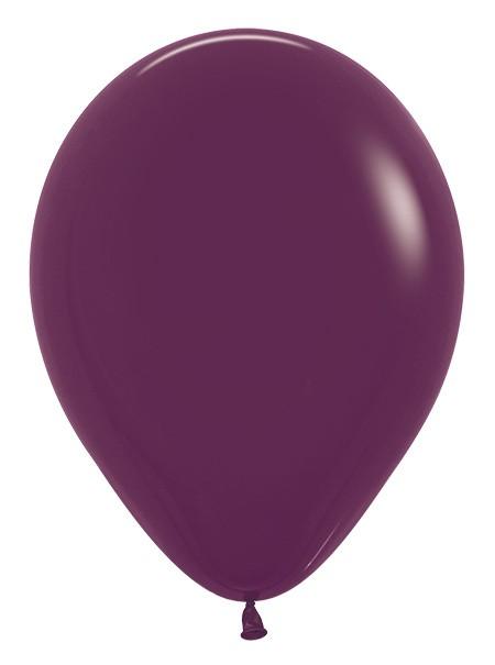 Balon okrągły 12 burgund