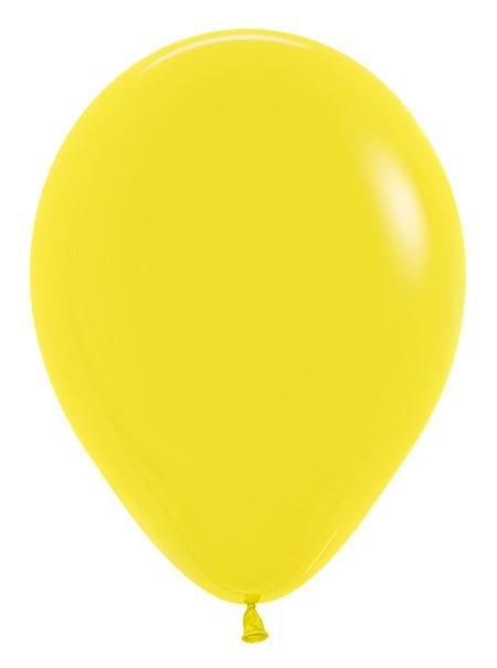 Balon okrągły 12 żółty