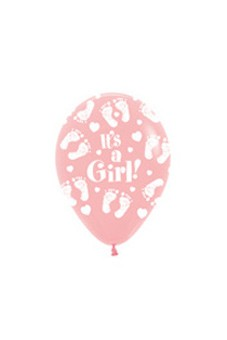 R12GF It's a Girl Footprint  Sklep Balonolandia