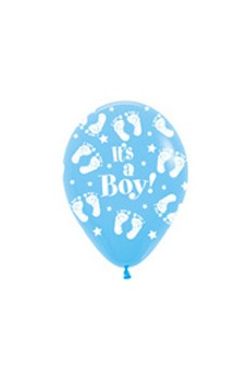R5BF It's a Boy Footprint Sklep Balonolandia