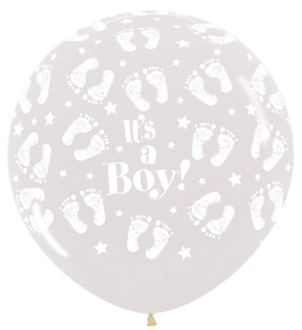 R36BF390 It's a Boy Footprint Sklep Balonolandia