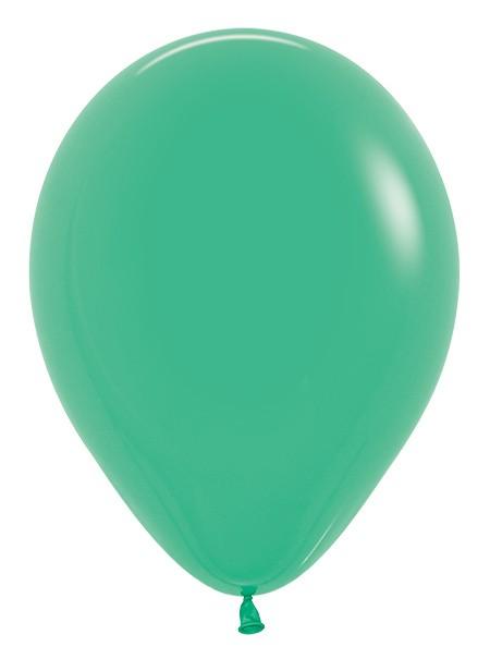 """R12 030 Balon okrągły 12""""  zielony  Sklep Balonolandia"""