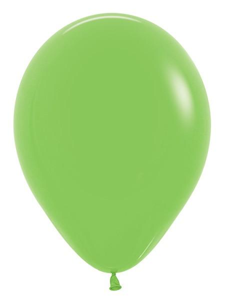 Balon okrągły 12 limonka