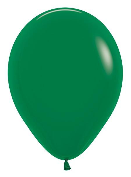 Balon okrągły 12 leśna zieleń
