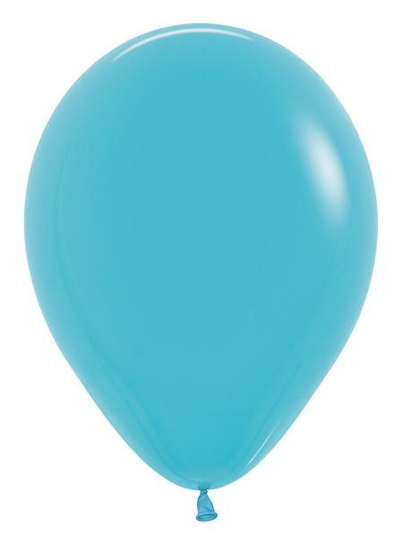 Balon okrągły 12 karaibski błękit