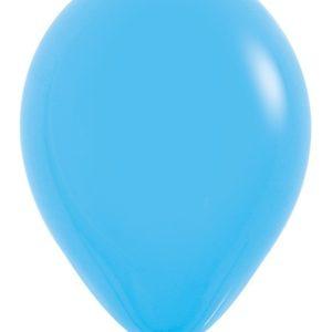 Balon okrągły 12 niebieski
