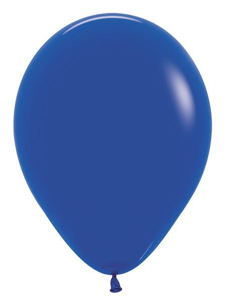 Balon okrągły 12 królewski błękit
