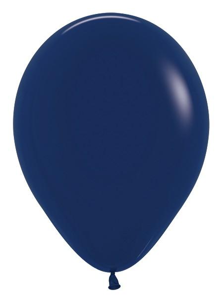 Balon okrągły 12 granatowy