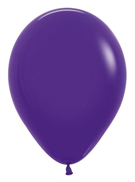 Balon okrągły 12 fioletowy