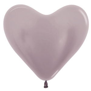 Balon serce 14 greige