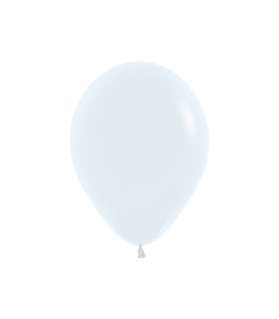 Balon okrągły 10 biały