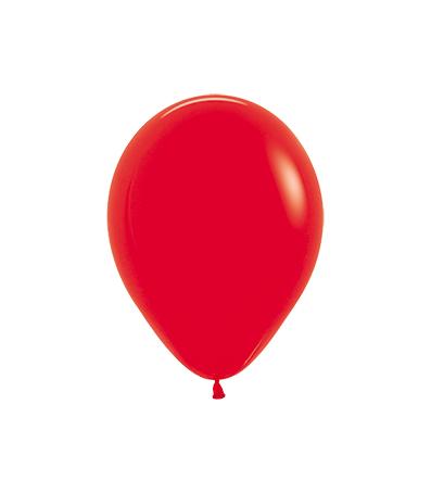 Balon okrągły 10 czerwony