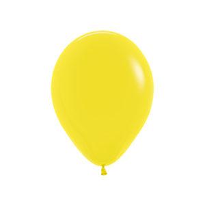 Balon okrągły 10 żółty