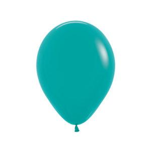 Balon okrągły 10 turkusowy