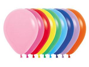 Balon okrągły 10 miks kolorów