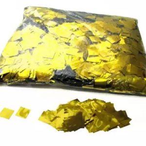 Konfetti Foliowe Metaliczne Złote