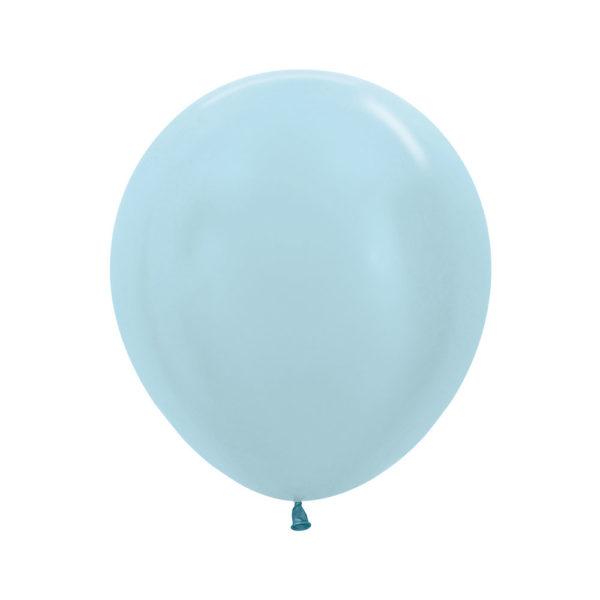 "Perłowy błękit 18"" Sempertex"