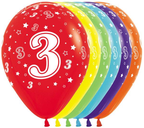 R12 3 Balon z nadrukiem 3 Sklep Balonolandia