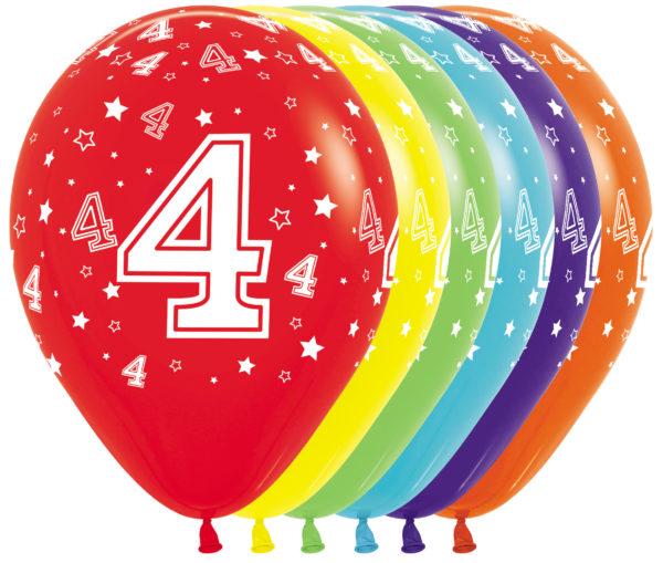 R12 4 Balon z nadrukiem 4 Balonolandia 4Pro