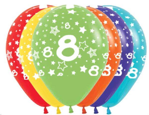 R12 8 Balon z nadrukiem 8 Sklep Balonolandia