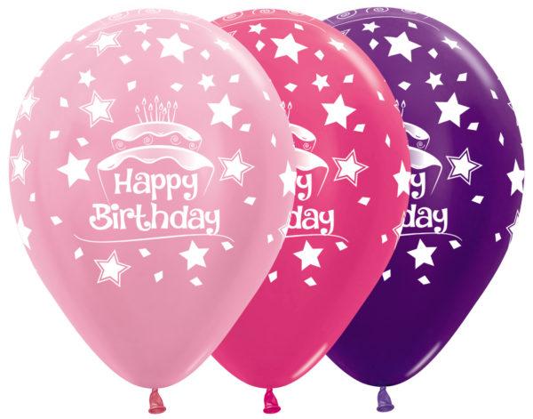 Sempertex Happy Birthday Cake w Balonolandia
