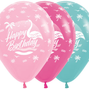 Sempertex Happy Birthday Flamingo w Balonolandia