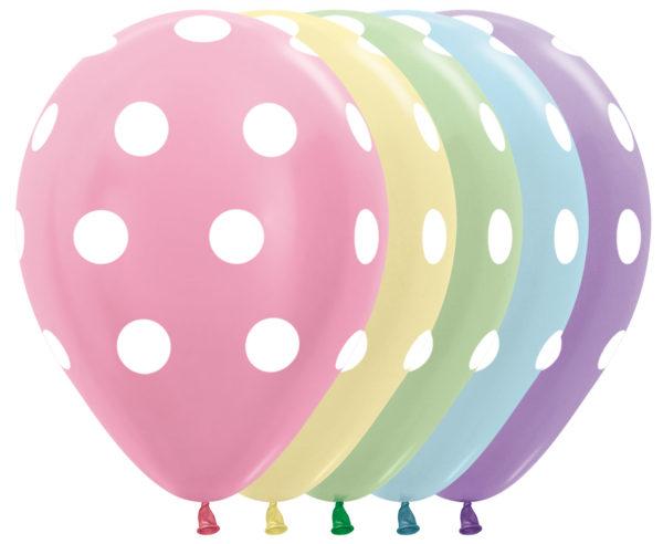 Sempertex perłowe balony w groszki