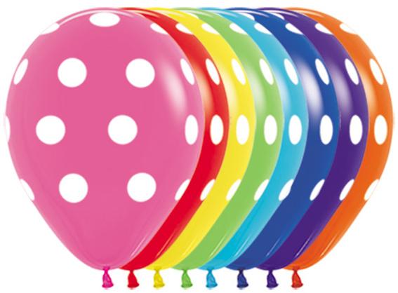 Sempertex balon w groszki w Balonolandia