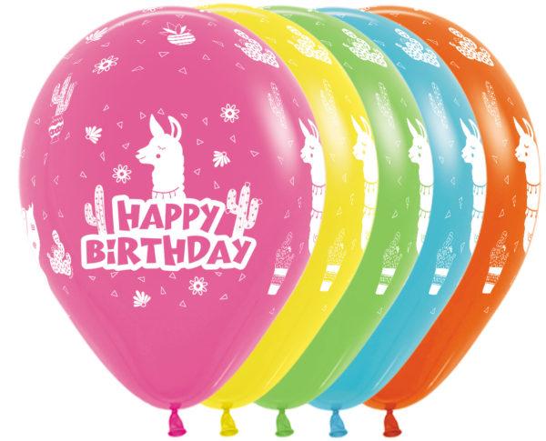 Sempertex Happy Birthday Lama wBalonolandia