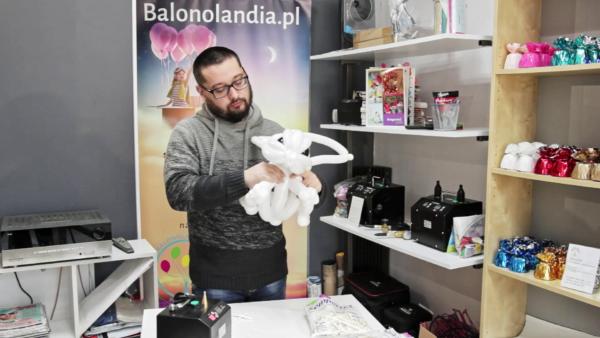 Zajączek - szkolenie video do pobrania Balonolandia 4Pro