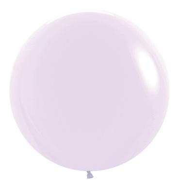Balon okrągły 24 lila Pastel Matte