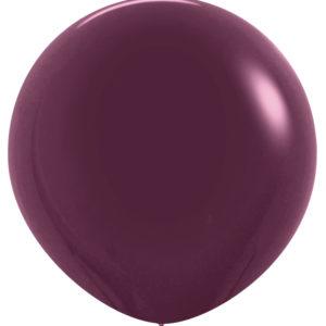 Balon kulisty 36 burgund